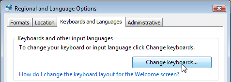 How to Configure MS Windows (Vista 7 and later) for Greek Typing